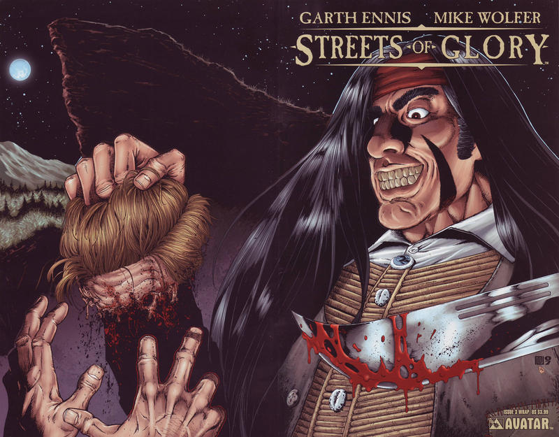 Cover for Garth Ennis' Streets of Glory (Avatar Press, 2007 series) #3 [Wrap]