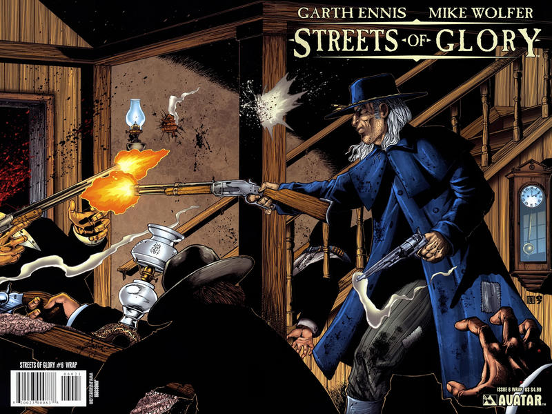 Cover for Garth Ennis' Streets of Glory (Avatar Press, 2007 series) #6