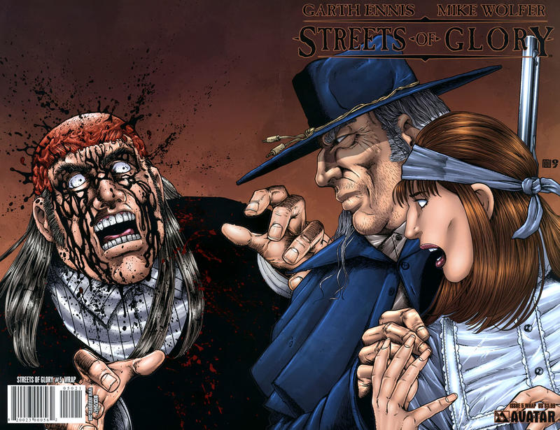 Cover for Garth Ennis' Streets of Glory (Avatar Press, 2007 series) #5