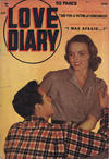 Cover for Love Diary (Export Publishing, 1949 series) #1