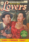 Cover for Lovers (Bell Features, 1949 series) #29