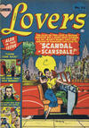 Cover for Lovers (Bell Features, 1949 series) #34