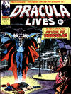 Cover for Dracula Lives (Marvel UK, 1974 series) #2