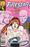 Cover for Firestar (Marvel, 1986 series) #1 [Newsstand Edition]