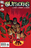 Cover for The Outsiders (DC, 2009 series) #36