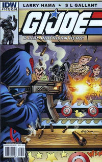 Cover Thumbnail for G.I. Joe: A Real American Hero (IDW, 2010 series) #163 [Cover B]