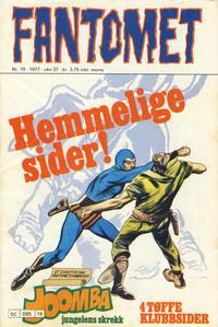Cover Thumbnail for Fantomet (Semic, 1976 series) #19/1977