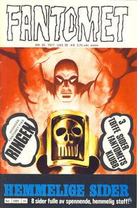 Cover Thumbnail for Fantomet (Semic, 1976 series) #20/1977