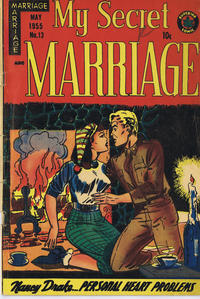 Cover Thumbnail for My Secret Marriage (Superior, 1953 series) #13