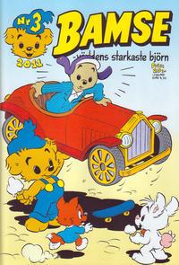 Cover Thumbnail for Bamse (Egmont, 1997 series) #3/2011