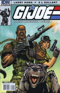 Cover Thumbnail for G.I. Joe: A Real American Hero (IDW, 2010 series) #163 [Cover A]