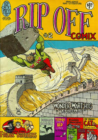 Cover Thumbnail for Rip Off Comix (Rip Off Press, 1977 series) #2 [1.25 USD 2nd print]