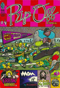 Cover Thumbnail for Rip Off Comix (Rip Off Press, 1977 series) #4 [1.25 USD 2nd print]