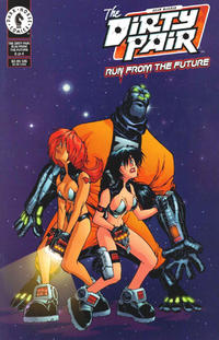 Cover Thumbnail for The Dirty Pair: Run from the Future (Dark Horse, 2000 series) #4 [Alternate]