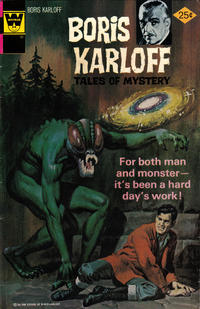 Cover Thumbnail for Boris Karloff Tales of Mystery (Western, 1963 series) #69 [Whitman Variant]