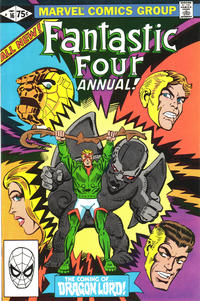 Cover Thumbnail for Fantastic Four Annual (Marvel, 1963 series) #16 [Direct Edition]