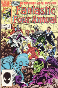 Cover Thumbnail for Fantastic Four Annual (Marvel, 1963 series) #18 [Direct Edition]