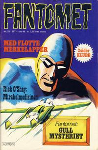 Cover Thumbnail for Fantomet (Semic, 1976 series) #25/1977