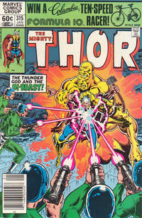 Cover Thumbnail for Thor (Marvel, 1966 series) #315
