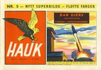 Cover Thumbnail for Hauk (Serieforlaget / Se-Bladene / Stabenfeldt, 1955 series) #5/1956