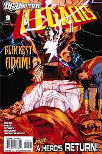 Cover for DCU: Legacies (DC, 2010 series) #9 [Regular Cover]