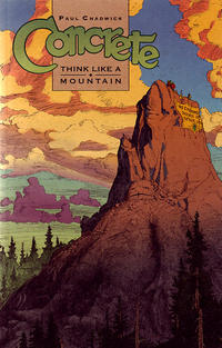 Cover Thumbnail for Concrete: Think Like a Mountain (Dark Horse, 1997 series)