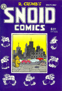Cover Thumbnail for Snoid Comics (Kitchen Sink Press, 1980 series)  [2nd print 2.00 USD/2.80 CAD]