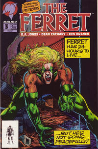 Cover Thumbnail for The Ferret (Malibu, 1993 series) #3 [Direct Edition]