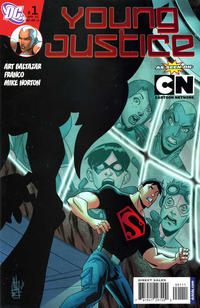 Cover Thumbnail for Young Justice (DC, 2011 series) #1