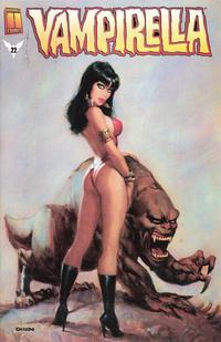 Cover for Vampirella (Harris Comics, 2001 series) #22 [Amanda Conner & Jimmy Palmiotti Cover]