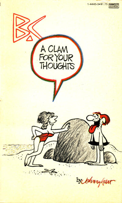 Cover for B.C. A Clam for Your Thoughts (Gold Medal Books, 1981 series) #14445 [24]
