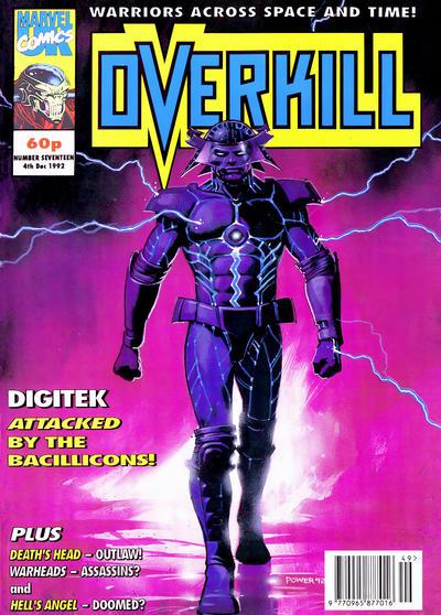 Cover for Overkill (Marvel UK, 1992 series) #17
