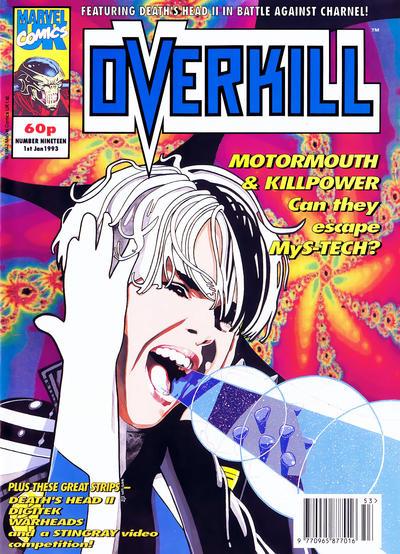 Cover for Overkill (Marvel UK, 1992 series) #19