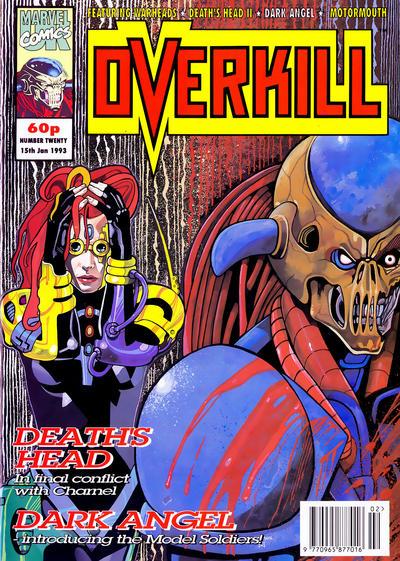 Cover for Overkill (Marvel UK, 1992 series) #20