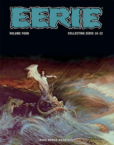 Cover for Eerie Archives (Dark Horse, 2009 series) #4