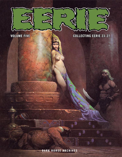 Cover for Eerie Archives (Dark Horse, 2009 series) #5