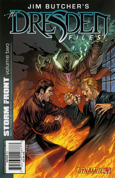 Cover for Jim Butcher's the Dresden Files: Storm Front (Dynamite Entertainment, 2010 series) #4