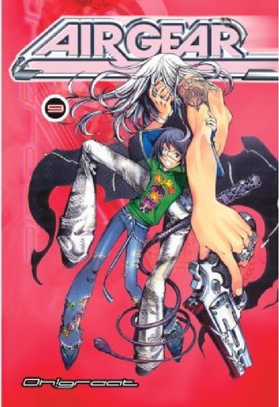 Cover for Air Gear (Random House, 2006 series) #9