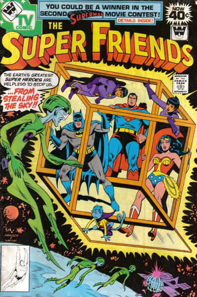 Cover for Super Friends (DC, 1976 series) #16 [newsstand]