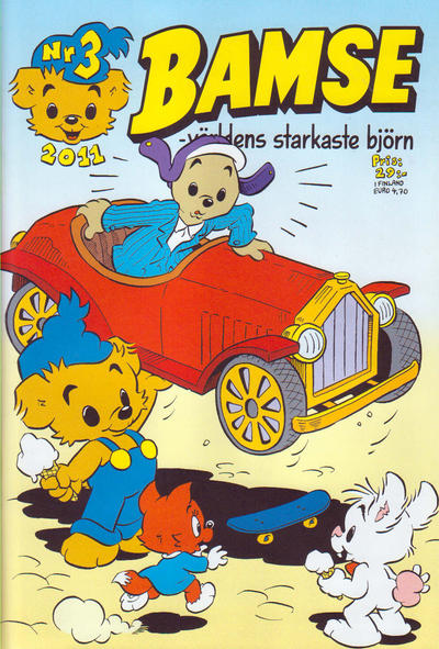 Cover for Bamse (Egmont, 1997 series) #3/2011