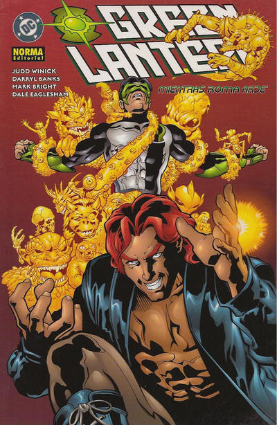 Cover for Green Lantern: Mientras Roma arde (NORMA Editorial, 2004 series) #[nn]