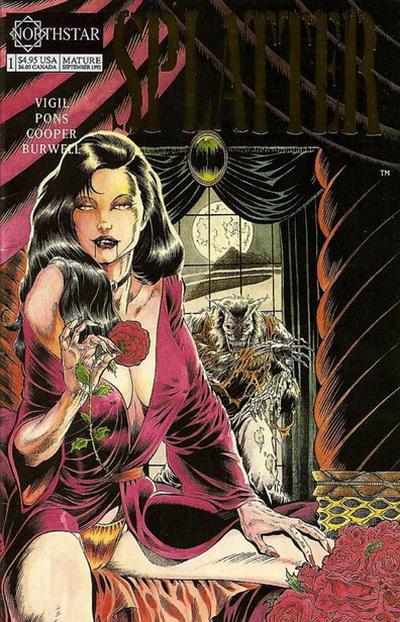 Cover for Splatter (Northstar, 1991 series) #1
