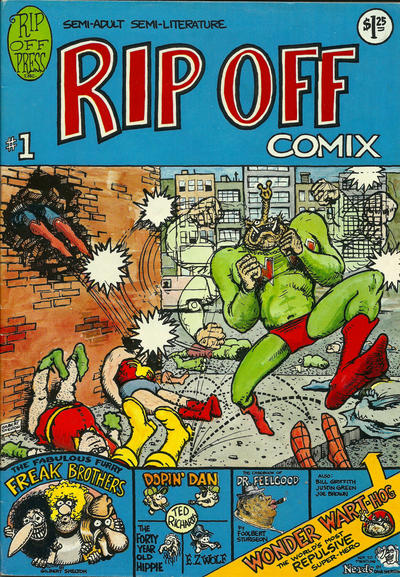 Cover for Rip Off Comix (Rip Off Press, 1977 series) #1