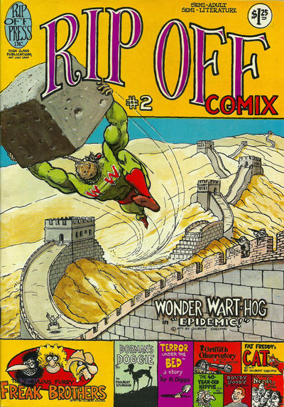 Cover for Rip Off Comix (Rip Off Press, 1977 series) #2