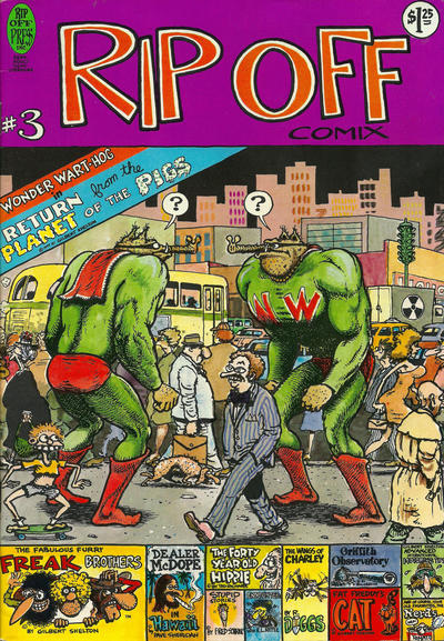 Cover for Rip Off Comix (Rip Off Press, 1977 series) #3