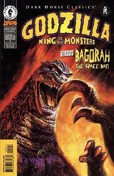 Cover for Dark Horse Classics: Godzilla - King of the Monsters (Dark Horse, 1998 series) #5
