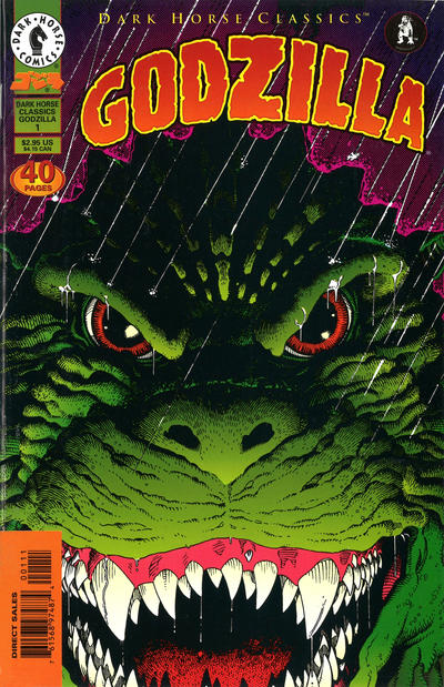 Cover for Dark Horse Classics: Godzilla (Dark Horse, 1998 series) #1