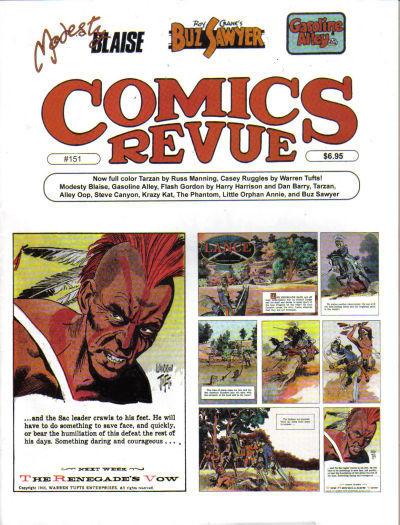 Cover for Comics Revue (Manuscript Press, 1985 series) #251 (151)