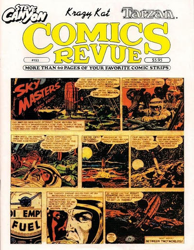 Cover for Comics Revue (Manuscript Press, 1985 series) #153