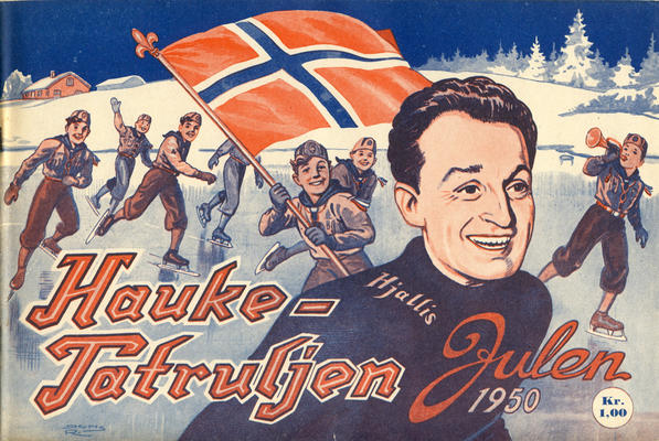 Cover for Haukepatruljen; Haukepatruljens revy (Ukemagasinet, 1937 series) #1950